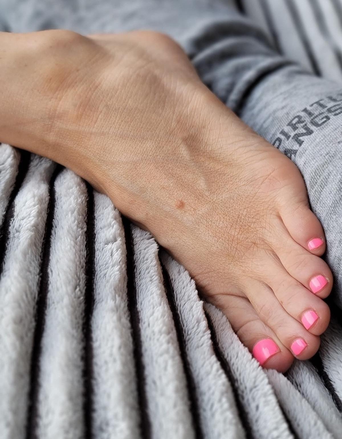 Kyle Unfug's foot
