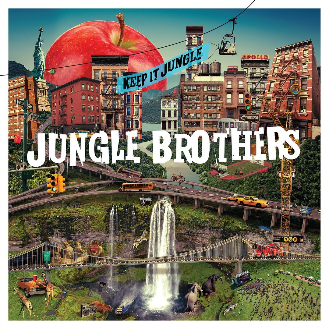 audio review : Keep It Jungle ( album ) ... Jungle Brothers